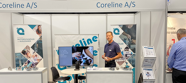 Coreline in Automatiks exhibition
